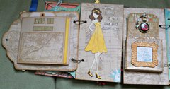 Page 4 of Louise's doll mini album