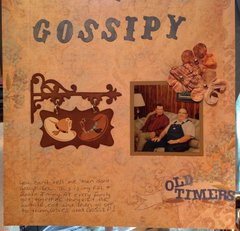 GOSSIPY...old timers