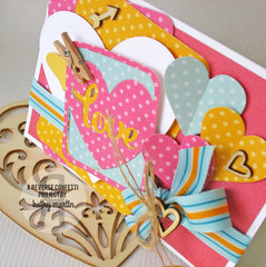 Love - Reverse Confetti
