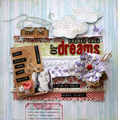 Pocket Full of Dreams *new Lily Bee Picket Fence**