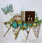 Being a Sister....**Up the Street Scrapbooking Kits**