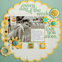 Day of the Week **Up the Street Scrapbooking**