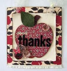 Give Thanks Wall Hanger