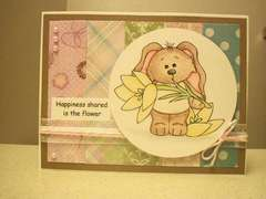 Bunny 1 Card