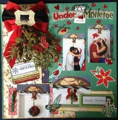 CHRISTMAS 2014 - UNDER THE MISTLETOE