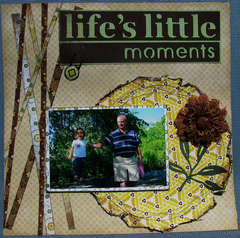 Life's Little Moments (double page layout - page 1)