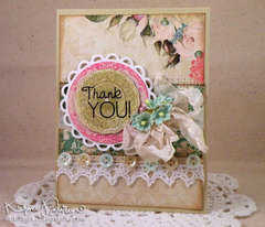 Shabby Chic Thank You
