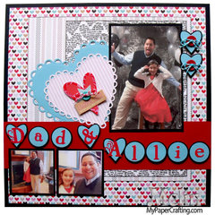 Dad and Allie Layout