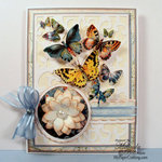 DCWV Butterfly Card