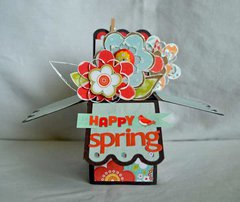 Spring Box Card *Clear Scraps*