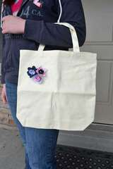 Canvas Flower Bag *Imaginisce*