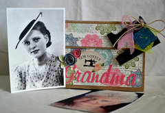 Grandma Picture Box *Clear Scraps*