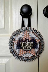 Trick or Treat Door Hanger *Clear Scraps*