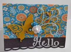 Hello Card *Zva Creative*