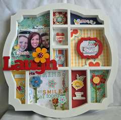 Laugh Letter Press Tray *Adornit*