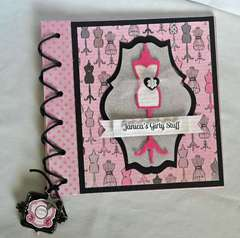 Notebook *New Carta Bella Paris Girl Samantha Walker*