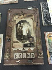 Found = from the CHA W 2014 Tim Holtz Idea-ology Booth