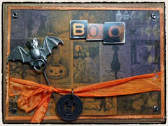 Tim Holtz Halloween Boo Card