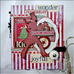 Handmade Christmas Book by TH Media Team Member Aida Haron