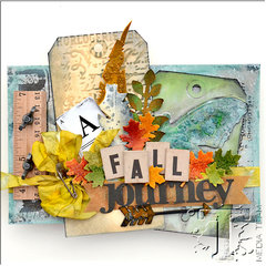 A Fall Journey Mini Book by TH Media Team Member Vicki Boutin