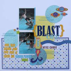 Blast off by Kim Holmes