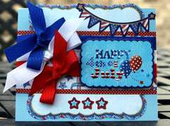 Happy 4th of July by Debbie Sherman