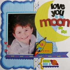 Love you to the Moon and back by Jodi Wilton