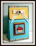 Loops and Scoops 3D Cupcake Bag  by Karen Taylor