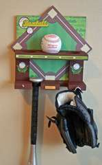 Baseball Rack by Liz Chidester