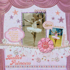 Ballet Princess by Julie Walton