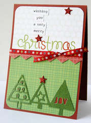 Merry Christmas card **KI Memories**