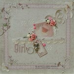It's a Girl *Scrap That Aug Kit*