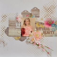 Natural Beauty Mixed Media