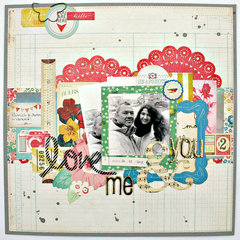 Love You & Me - Crate Paper