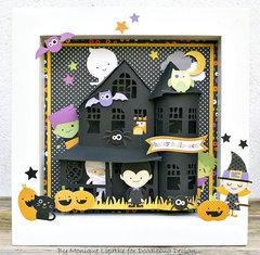 Haunted House Shadow Box - Doodlebug Design