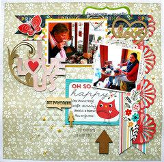 I love us - Imaginisce & free cut file