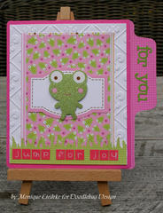 Jump for Joy card - Doodlebug
