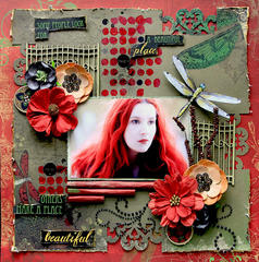 A Beautiful Place **SCRAPS OF DARKNESS** November Kit-Karma