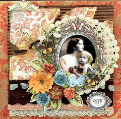 A Mother's Love Canvas **SCRAPS OF DARKNESS** February Kit-Simple Pleasures