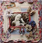 A Natural Beauty  **Scraps Of Darkness* August Kit~Rustic