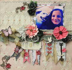 Amore **SCRAPS OF ELEGANCE** February Kit-Lovesong