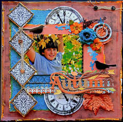 Autumn **SCRAPS OF DARKNESS** Round Robin