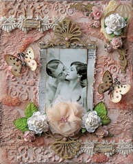 Body & Soul 8 x10 Canvas **SCRAPS OF ELEGANCE** October Kit-Dreams of You