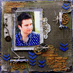 Breathe *8Scrapmatts Chipboard**