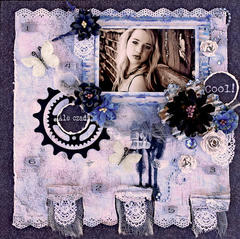 COOL  **SCRAPS OF ELEGANCE** January Kit-A Dream Within A Dream