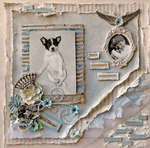 Charm **SCRAPS OF ELEGANCE** September Kit-Nostalgia