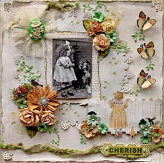 Cherish **SCRAPS OF ELEGANCE** September Kit-Nostalgia