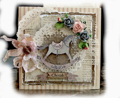 Cherish Card **ScrapMatts Chipboard**