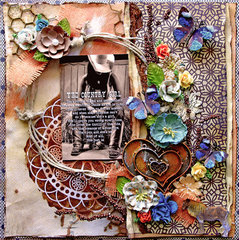 Country Girl    **SCRAPS OF DARKNESS** April Kit-Remember When