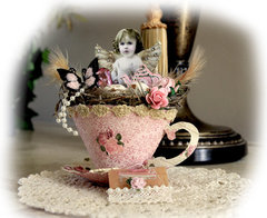 Fairy Tea Cup **SCRAPS OF ELEGANCE** May Kit-Yesterdays